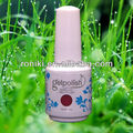 private label nail polish rose red