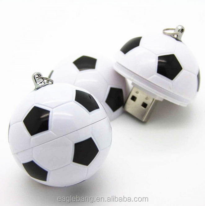 Shenzhen Factory Wholesale Soccer Ball Usb Flash Drives,World Cup Promotional Football