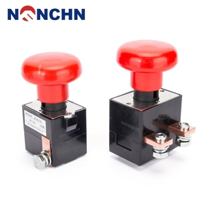 OFUN High Quality Emergency Stop Push Button Switch 80V