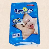 Wholesale Disposable pampering Baby Disposable Sleepy Baby Diaper Manufacturers in China