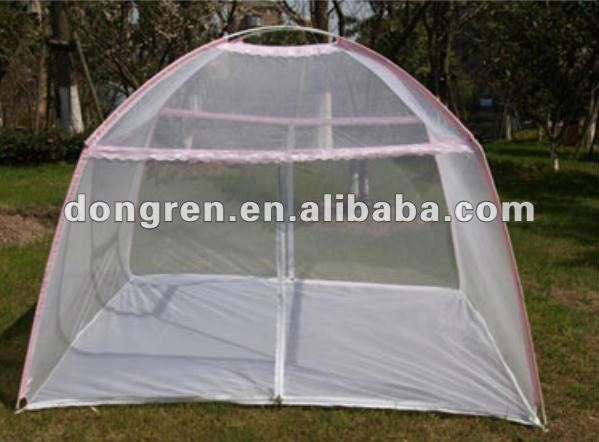 magic folding stainless steel mosquito nets for twin bed for DRPMN