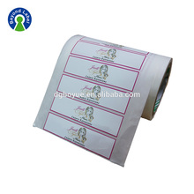 Bundle Hair Extension Labels Custom Logo Printed Stickers Packaging