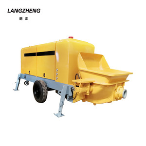 Diesel Engine Portable Concrete Grouting Pump for Sale