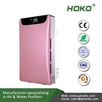 PM2.5 Dust remove air cleaner hoko A168 home air purifier with hepa filter