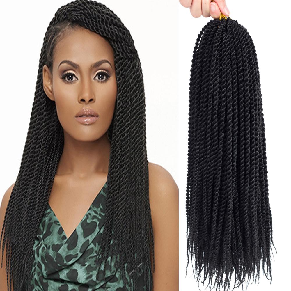 14 18 22 Senegalese Twist Crochet Hair 20roots Mambo Twist
