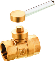 Brass ball valve pn16, brass magnetic lockable ball valve, lock key valve brass valve
