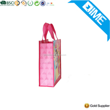 Large Durable Brown Color Grocery Customized Shopping Non Woven Bag