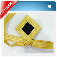 Special ribbon with brass wire