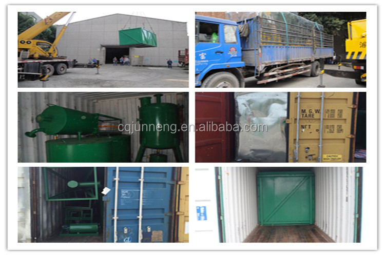 JNC-10 Used Motor Oil To Diesel Fuel Refinery Equipment