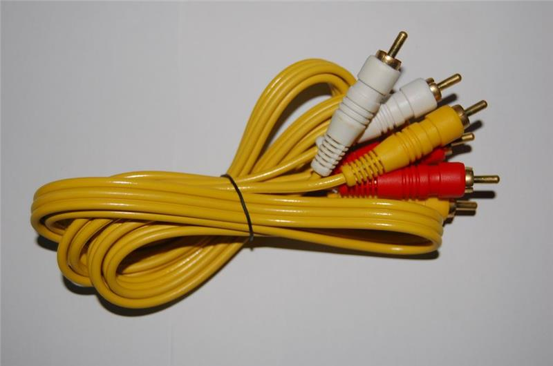 2015 Hot Selling Audio RCA Cable 3 RCA to 3 RCA Cable