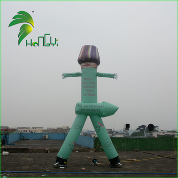 Two Legs Air Tube Man, Advertising Sky Dancer Inflatable Clown, Cheap Inflatable Air Dancer on sale