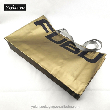 Top quality Yiwu metallic non woven bag manufacturer