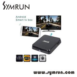 Symrun Original M8S Amlogic S812 Quad Core Tv Box H.265 Hevc Android 4.4 Dual Wifi 2Gb Mini M8S 2Gb