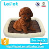 Deluxe durable dog accessories Soft Coral Fleece Pet Cushion Dog Cat Bed Mat Sleeping