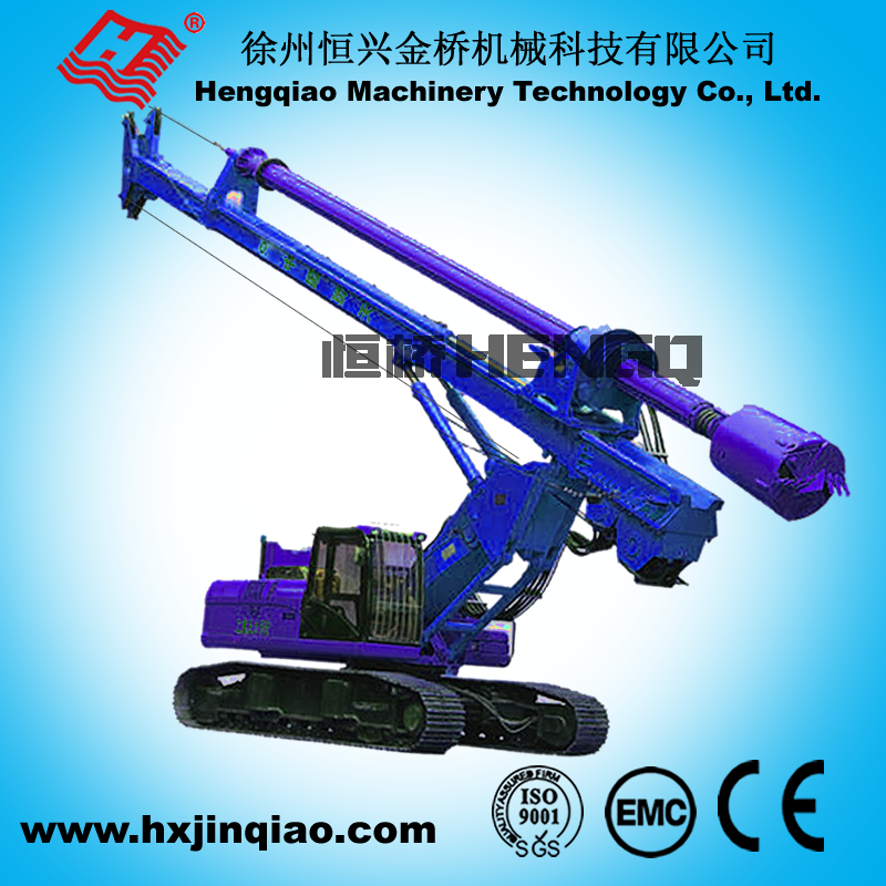 NEW product crawler drilling rig deep foundation drilling equipment