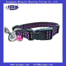 wholesale custom 2 inch nylon dog collars and leash with secure side buckle