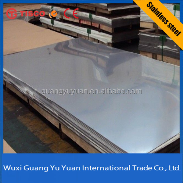 kitchen equipment Cheap prices hot rolled no.4 310 stainless steel sheet