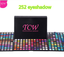 Brand Name Makeup Kit 252 Color eyeshadow palette Make Up Eye Shadow case
