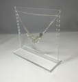 Transparent Acrylic Necklace Display Stand Acrylic Lady Jewelry Holder Acrylic Multi Necklace Display