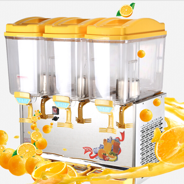 Hot juicer cabinet Double Heads Beverage Dispenser Juice Dispenser Prices