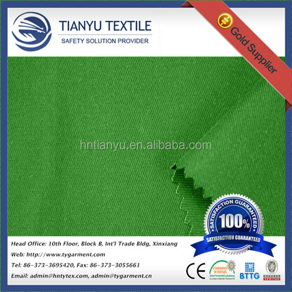 Industrial / Military Clothing Fabric with Flame Retardant Textiles