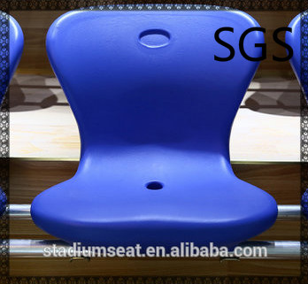 stadium plastic seat YZ-6118, hollow blow molding seat
