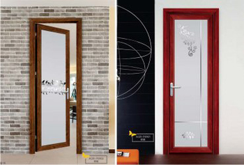 2013 new design bathroom flush door 5 years warrtanty manufacturer