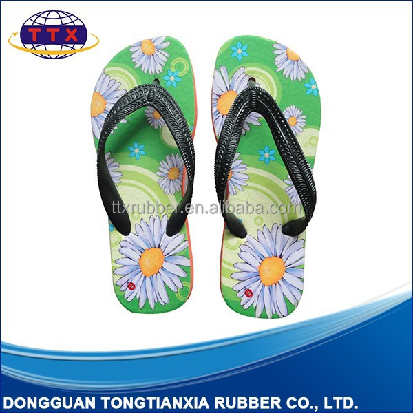 Blank Slippers Thick Sole Flip Flop Personalized Slippers EVA Girl Slippers