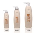 260ML,500ML,750ML PE shampoo bottle with lotion pump