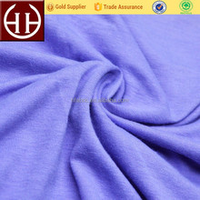 60% polyester 35% cotton 5% spandex knitted jersey cotton polyester spandex fabric