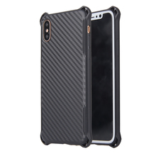 Wholesale Luxury Carbon Fiber TPU Shockproof Mobile Accesories Back Covers Cell Phone Case For Iphone X Phone Case