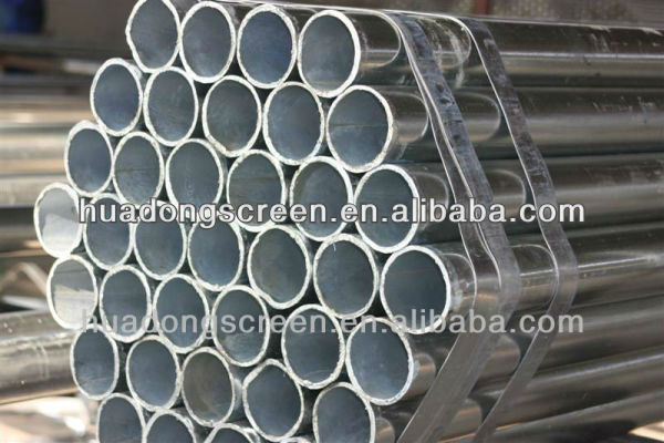 mild steel seamless pipe/water well casing pipe(Manufacturer)