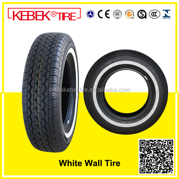 White Wall Commercial Car Tire 185R14C 195R14C 195R15C