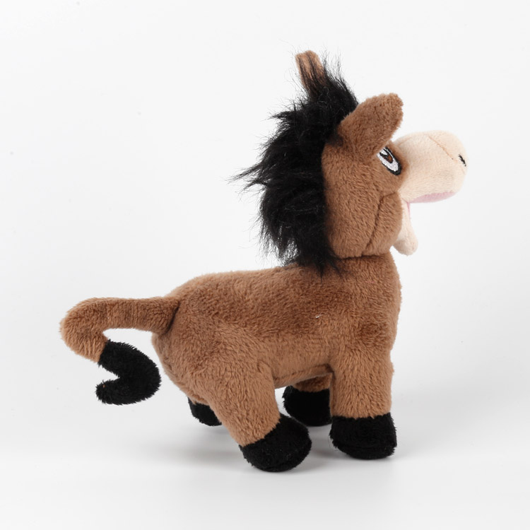 ICTI plush toys factory custom plush small stuffed donkey toy