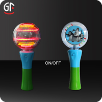 Advertising Gift Hot Selling Light Up Spinning Top