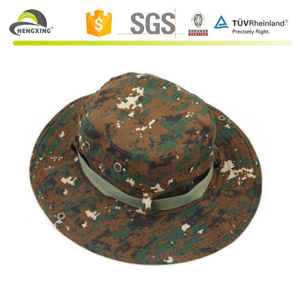 New Camo Military Wide Mesh Bucket Camping Hunting Fishing Boonie Hat