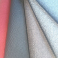 100% polyester Fabric for sofa or Upholstery Linen Look Fabric/100% polyester linen fabric