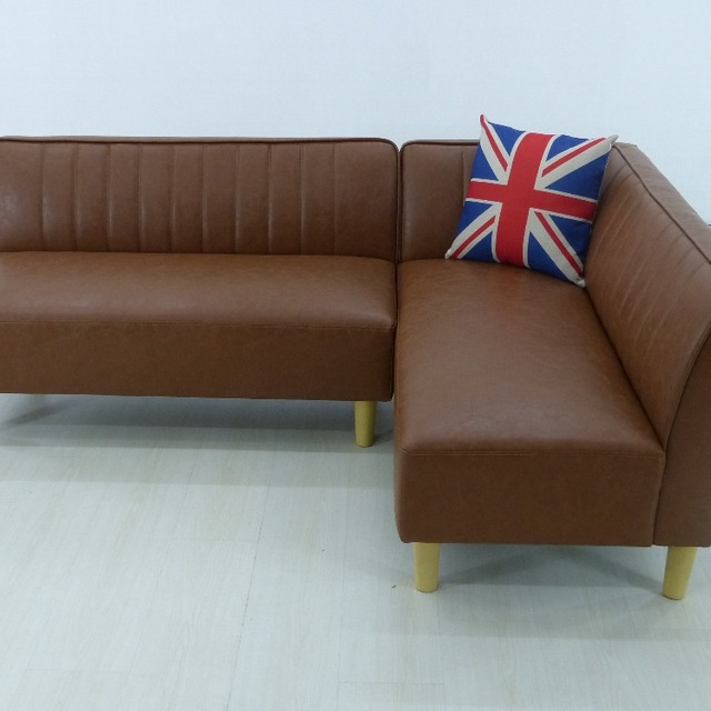 High Quality With Lowest Price L Shape sofa Genuine Leather Sofa