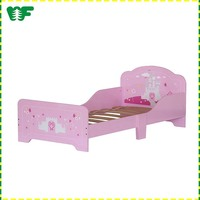 Hot selling modern wooden children furniture bed