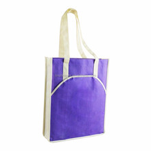 LIN New design best quality promotional shopping recycling non woven carry bag