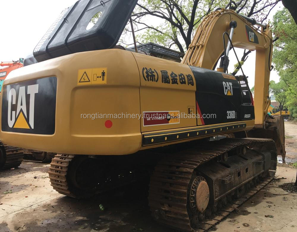 Good quality used caterpillar excavator 336D for sale/ cat excavator with low price