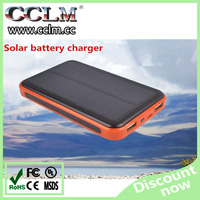 Solar Power Bank 13000mah high capacity power bank, battery charger for Mobile phone /pad/camera