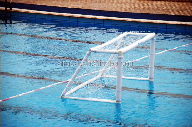 Whole sales inflatable water polo goal with 300X90cm