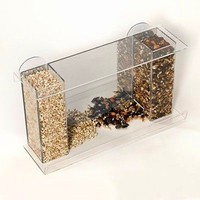 Hot sale clear acrylic bird feeder parts