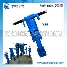 Quarrying tools Rock and concrete drilling rig Y19A Y20 Y24 and Y26 for USA market