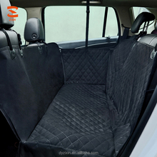 Luxury Back Seat Printed Pet Products Waterproof Durable Pet Dog Car Seat Covers with Safety Belt