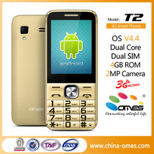 Cheap Price T2 Touch Screen 3G Android 2.8 inch telephone mobile