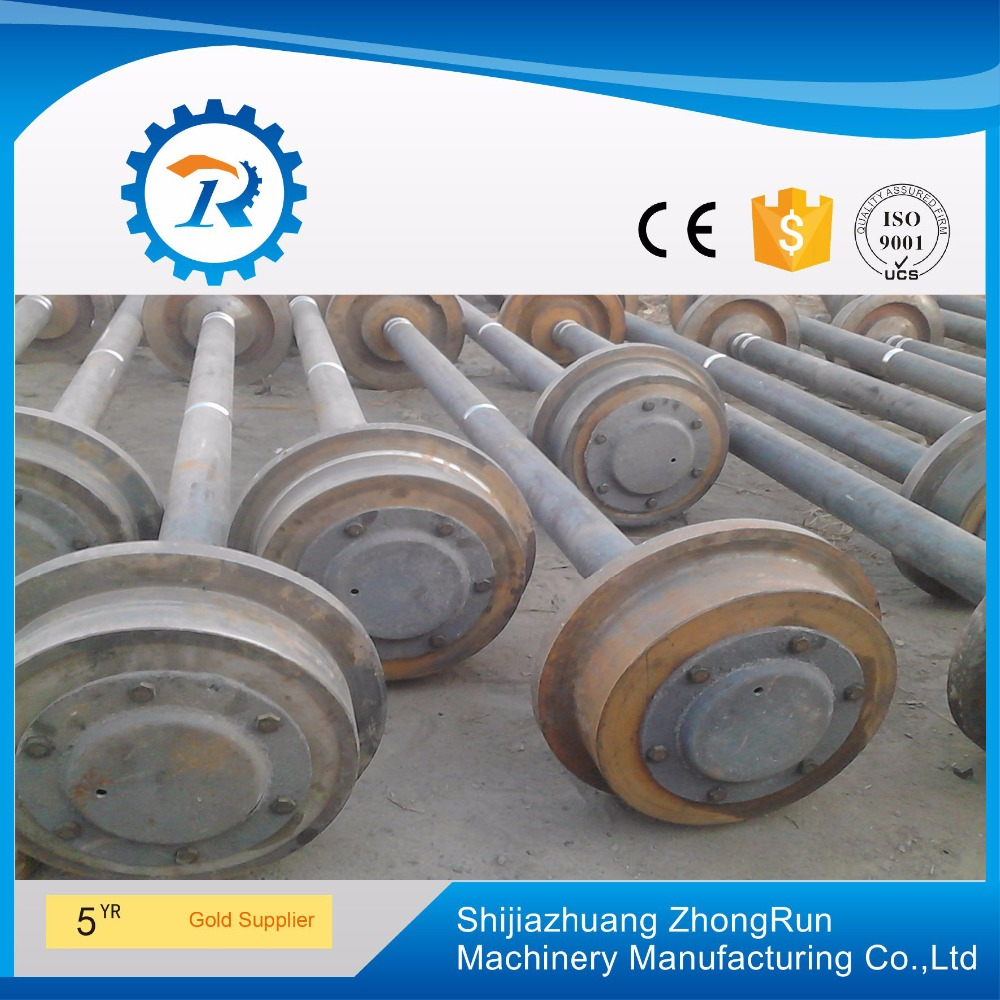 Best price for Mining rail car wheel (cast steel or cast iron)