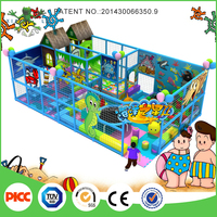 Commercial kids plastic Naughty Indoor play fort