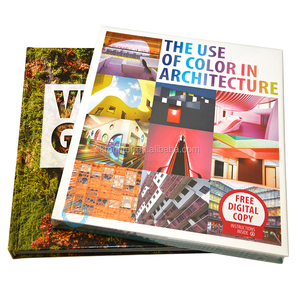high quality hardcover full color coffee table book printing service